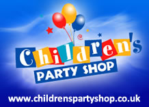 Childrens Party Shop selling themed childrens party supplies